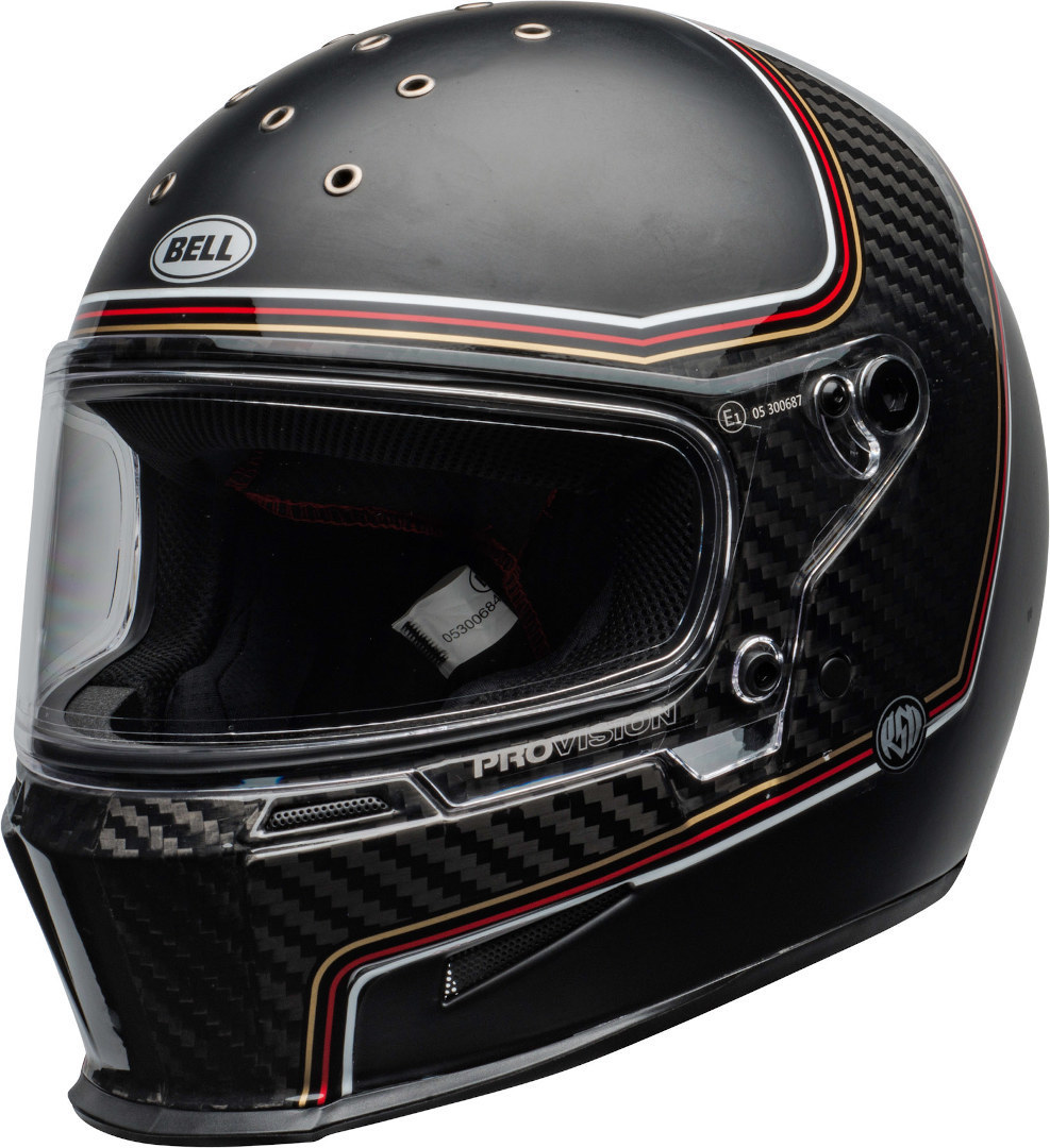 Bell Eliminator Carbon RSD The Charge Helm, schwarz-carbon, Größe S, schwarz-carbon, Größe S