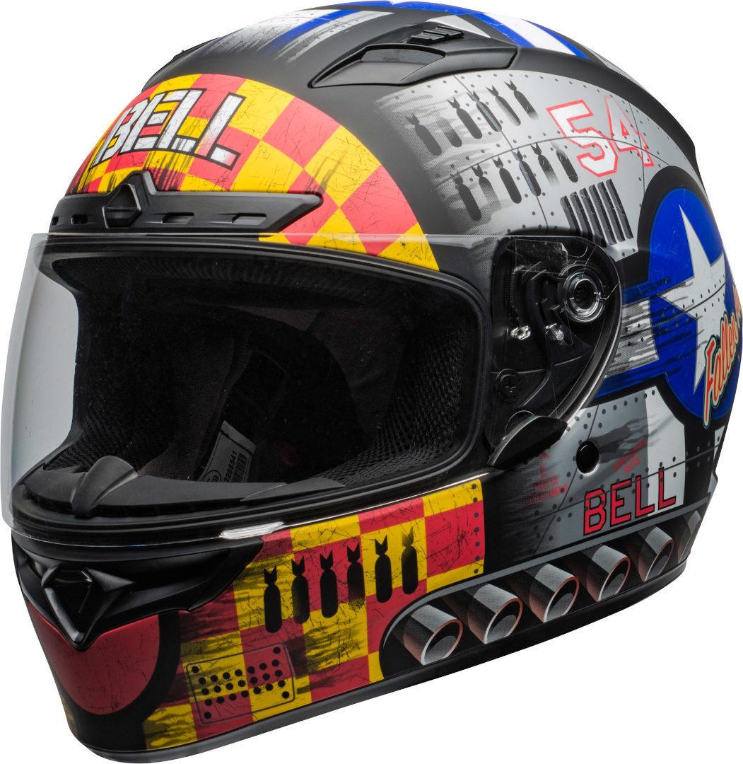 Bell Qualifier DLX Mips Devil May Care 2020 Helm, grau, Größe S, grau, Größe S
