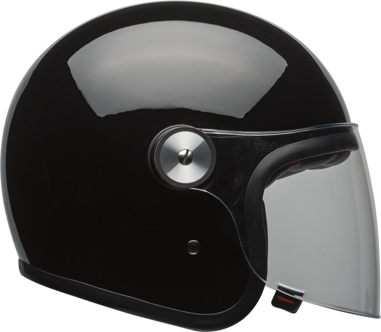 Bell Riot Solid Jethelm, schwarz, Größe M, schwarz, Größe M