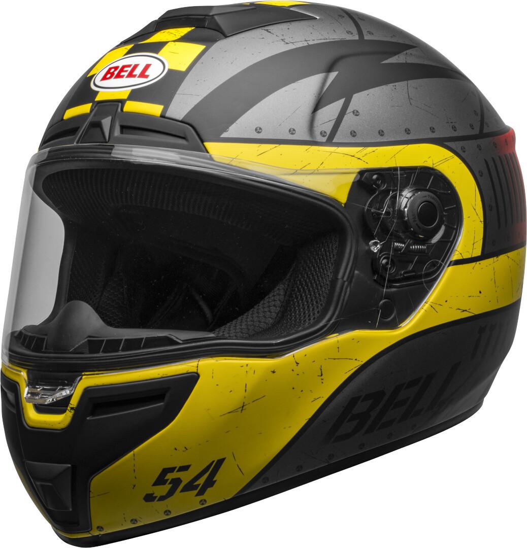 Bell SRT Devil May Care Helm, grau-gelb, Größe S, grau-gelb, Größe S