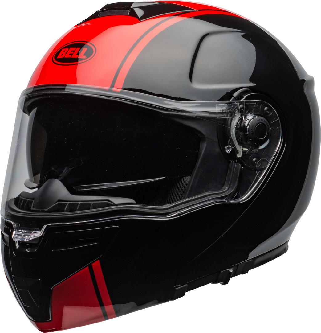 Bell SRT Modular Ribbon Klapphelm, schwarz-rot, Größe L, schwarz-rot, Größe L