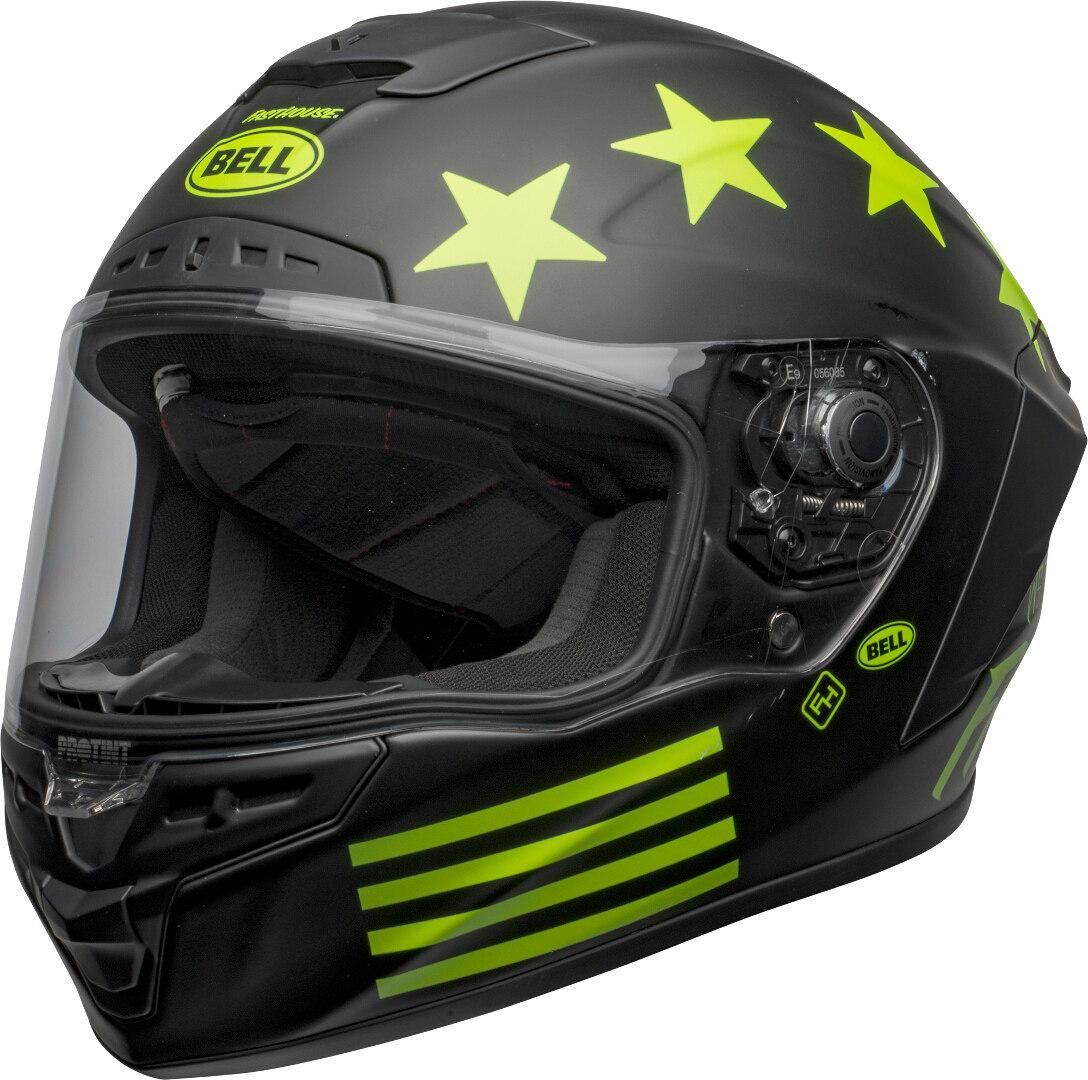 Bell Star DLX Mips Fasthouse Victory Circle Helm, schwarz-grün, Größe L, schwarz-grün, Größe L