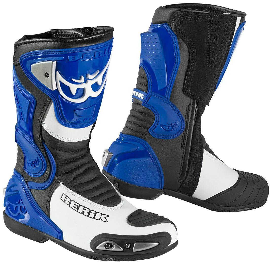 Berik Losail Motorradstiefel, blau, Größe 46, blau, Größe 46