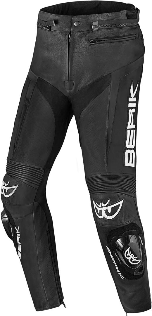 Berik Misle Motorrad Lederhose, schwarz, Größe 54, schwarz, Größe 54