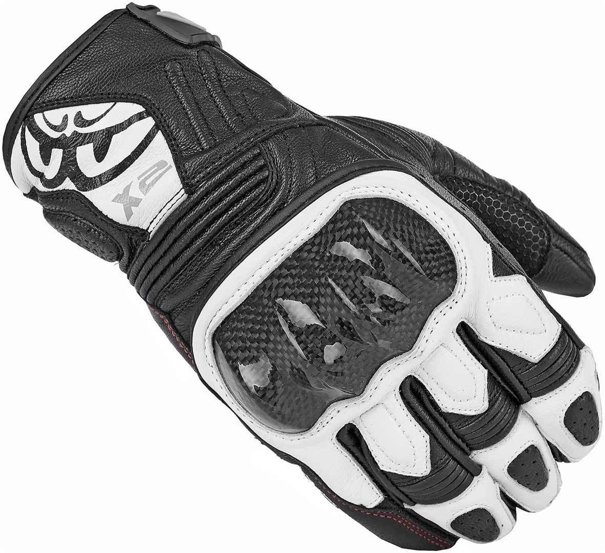 Berik NexG Motorradhandschuhe, schwarz-weiss, Größe XS, schwarz-weiss, Größe XS
