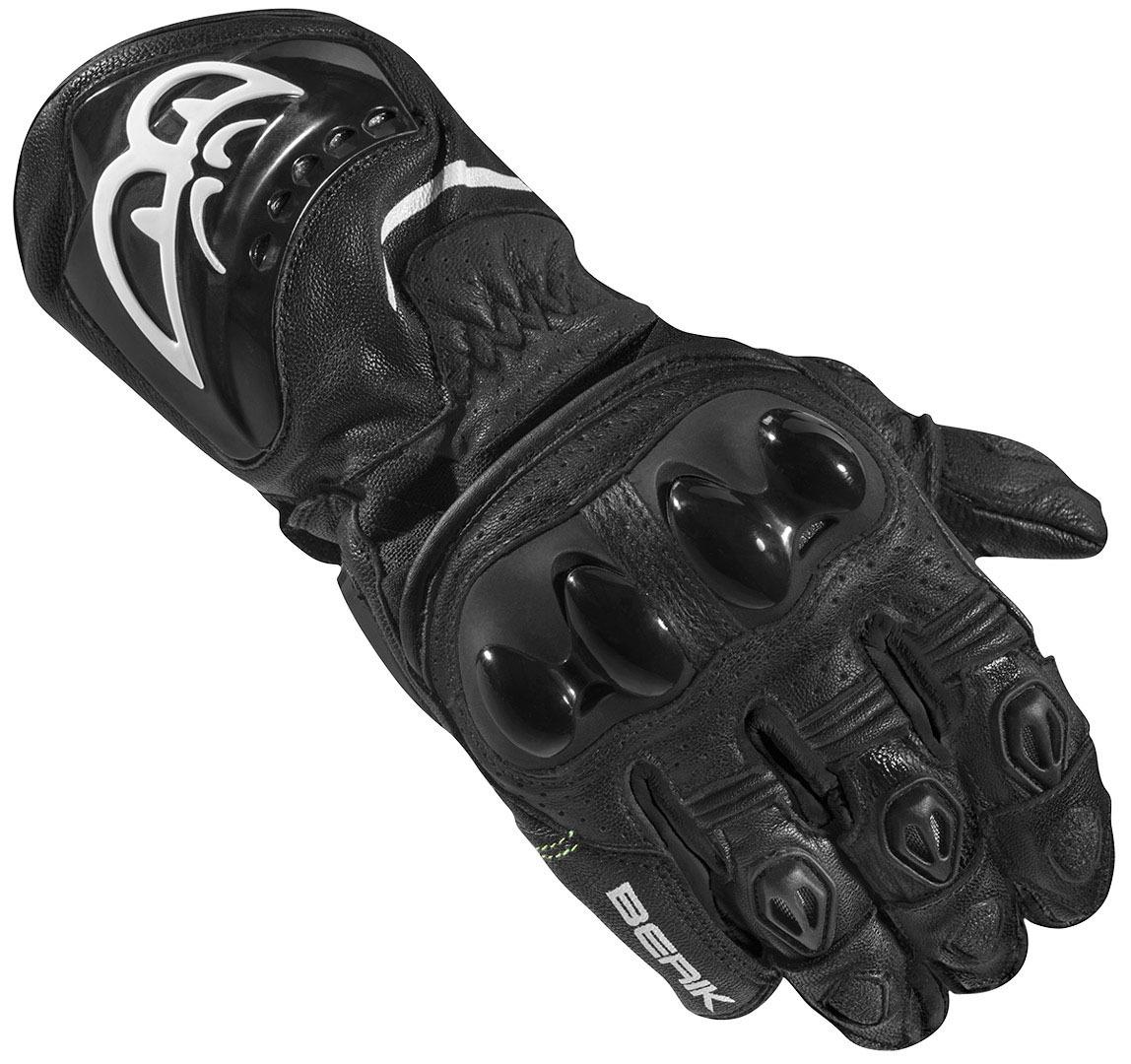 Berik Spa Evo Motorradhandschuhe, schwarz, Größe 2XL, schwarz, Größe 2XL