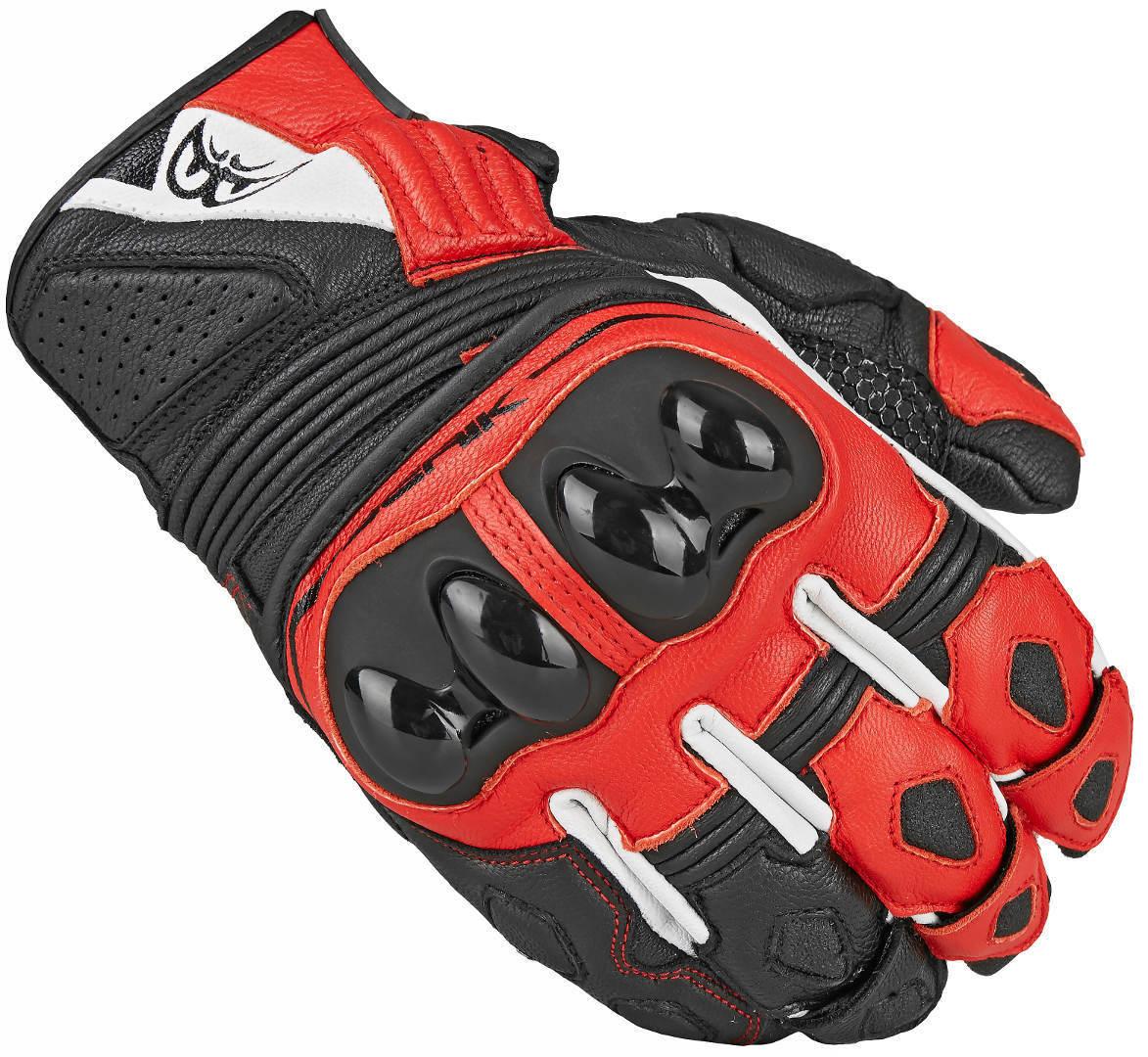 Berik Sprint Motorradhandschuhe, schwarz-rot, Größe S, schwarz-rot, Größe S