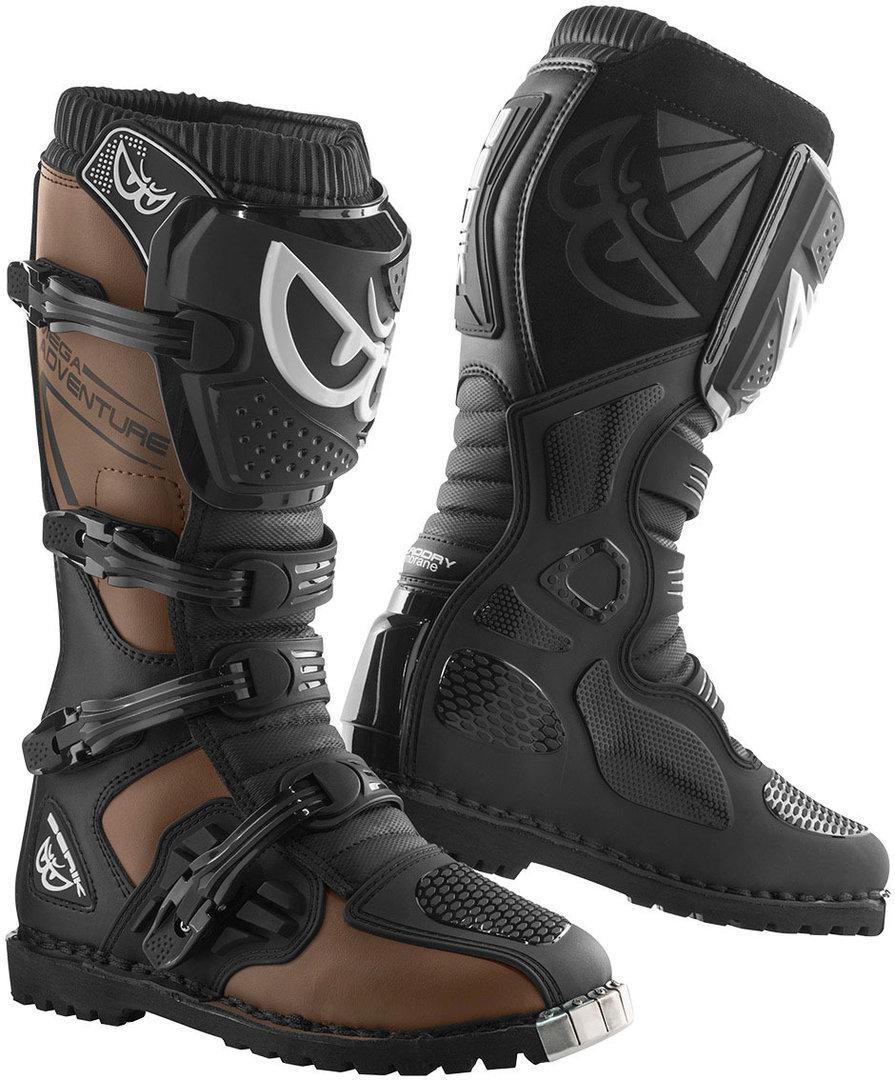 Berik Terrain Adventure Enduro / MX Stiefel, braun, Größe 40, braun, Größe 40