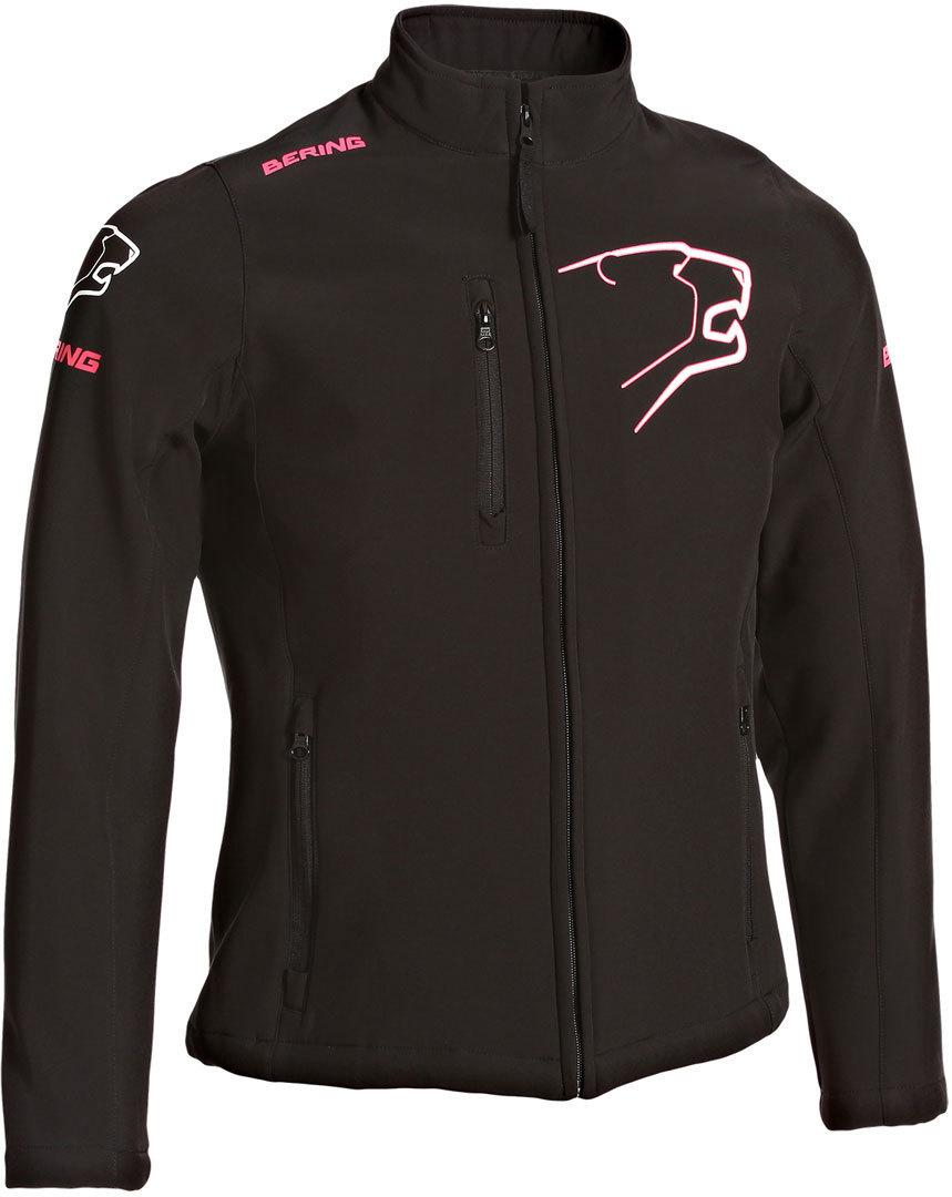 Bering BSG026 Damen Softshelljacke, schwarz-pink, Größe 46, schwarz-pink, Größe 46