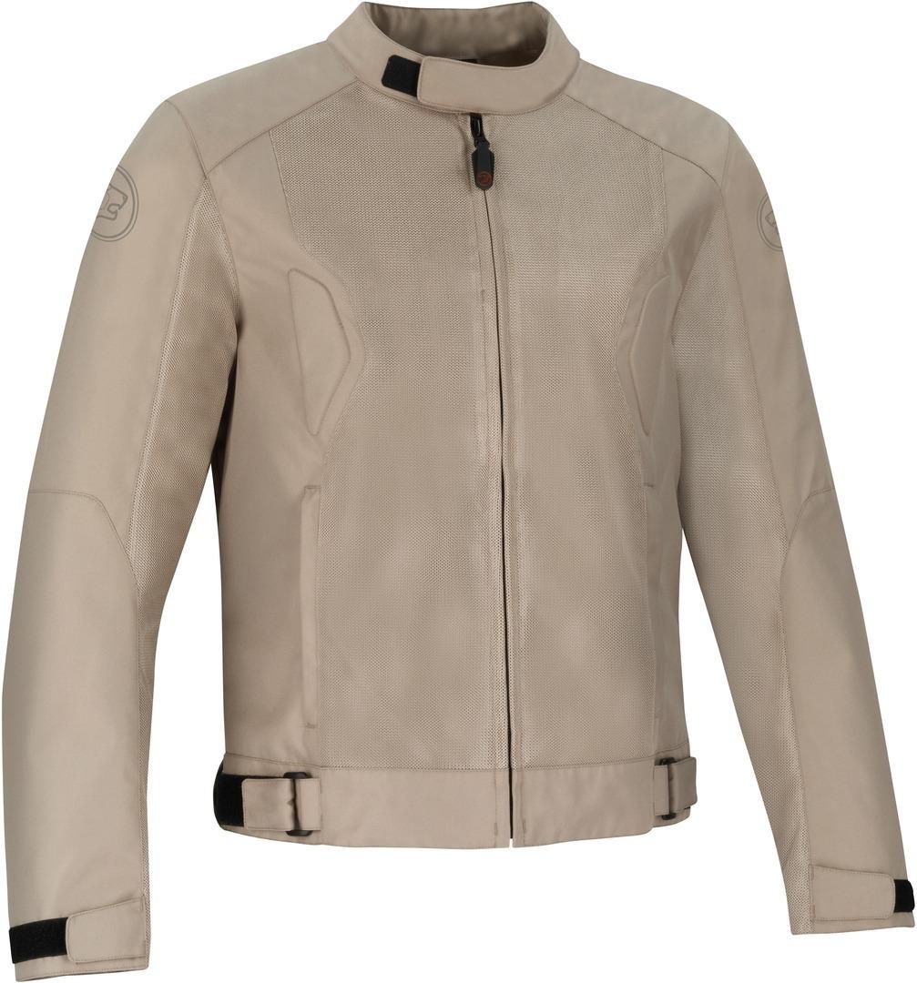 Bering Riko Motorrad Textiljacke, beige, Größe 3XL, beige, Größe 3XL