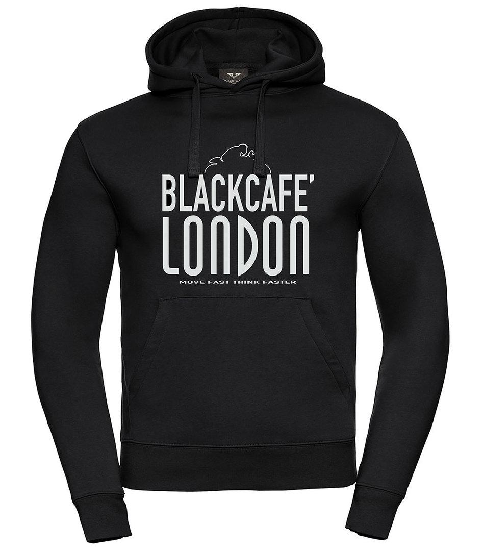 Black-Cafe London Classical Hoodie, schwarz-weiss, Größe 2XL, schwarz-weiss, Größe 2XL