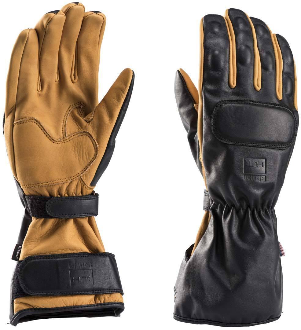 Blauer Backup Motorradhandschuhe, schwarz-braun, Größe L, schwarz-braun, Größe L