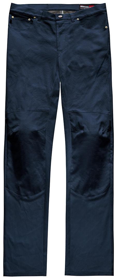 Blauer Kevin 5 Pocket Canvas Hose, Größe 34, blau, Größe 34