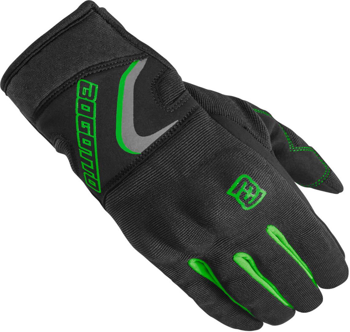 Bogotto F-ST Motorradhandschuhe, schwarz-grün, Größe 2XL, schwarz-grün, Größe 2XL