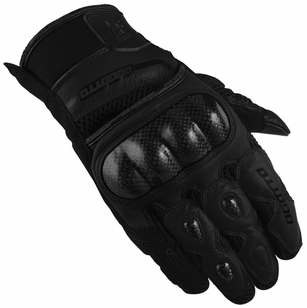 Bogotto Flint Motorradhandschuhe, schwarz, Größe M, schwarz, Größe M