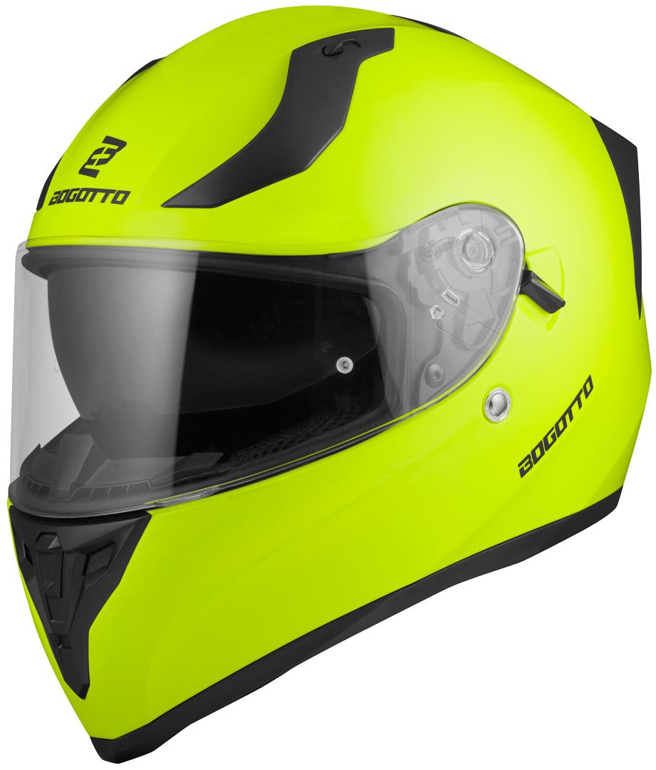 Bogotto V128 Helm, gelb, Größe XS, gelb, Größe XS