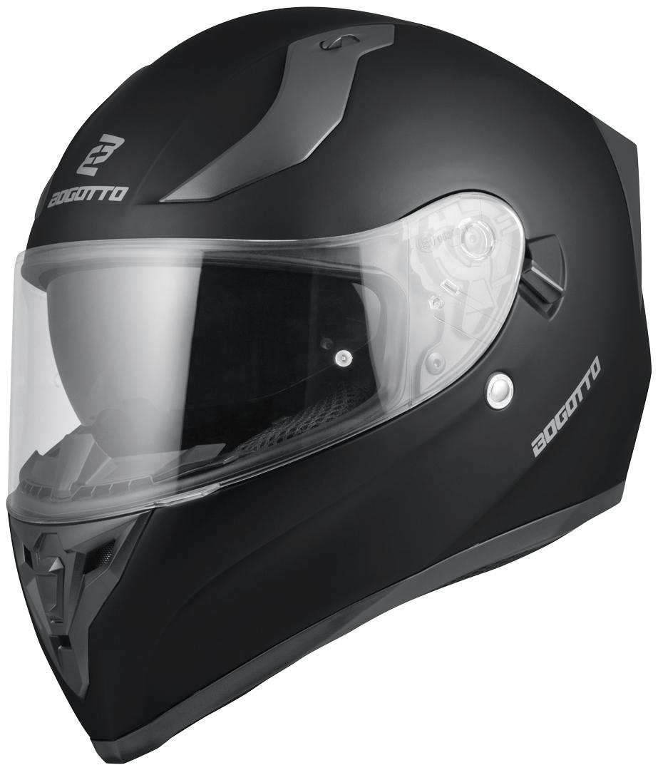 Bogotto V128 Helm, schwarz, Größe XS, schwarz, Größe XS