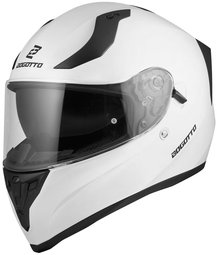 Bogotto V128 Helm, weiss, Größe XS, weiss, Größe XS