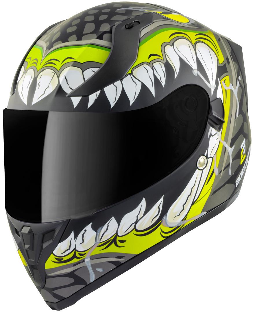 Bogotto V128 Naga Helm, schwarz-gelb, Größe XS, schwarz-gelb, Größe XS