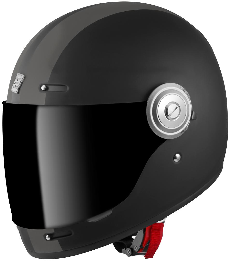 Bogotto V135 D-R2 Helm, schwarz-grau, Größe S, schwarz-grau, Größe S