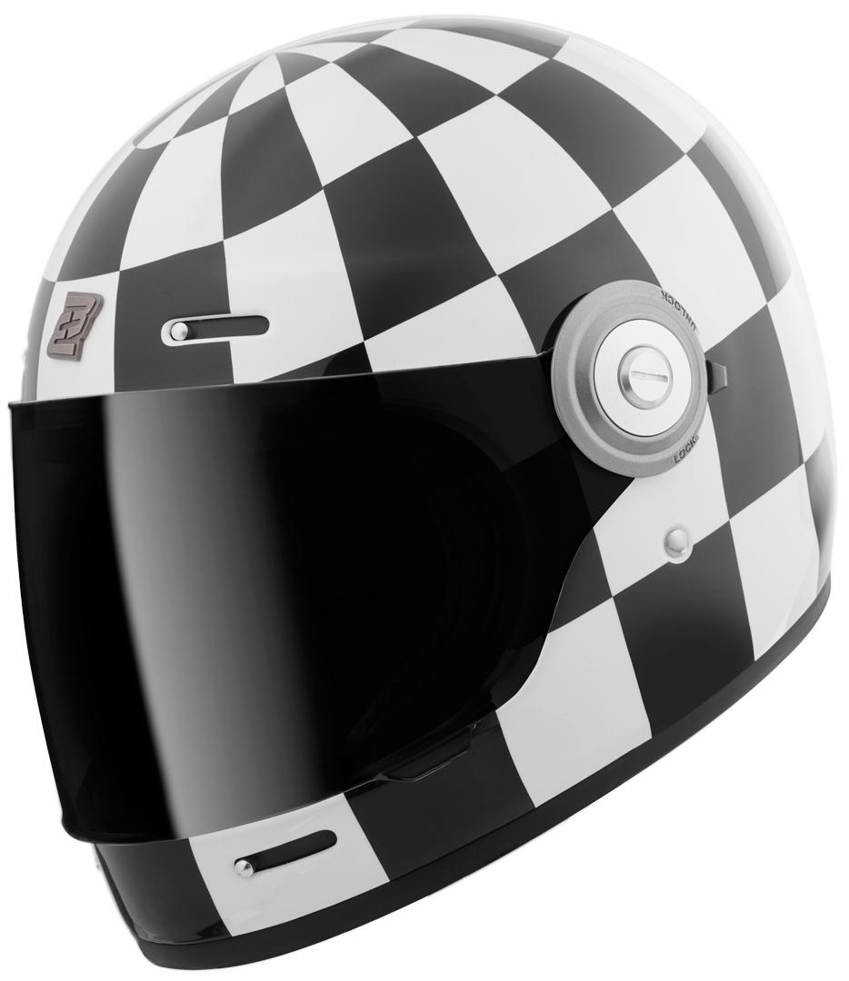 Bogotto V135 Diamante Helm, schwarz-weiss, Größe M, schwarz-weiss, Größe M