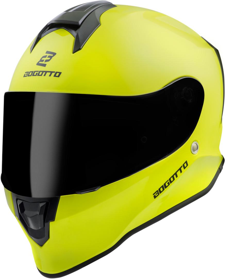 Bogotto V151 Helm, gelb, Größe XS, gelb, Größe XS