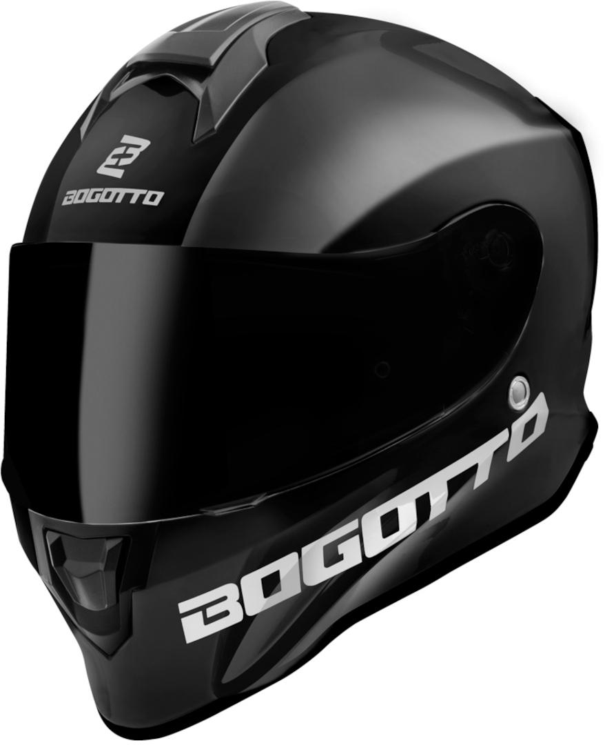 Bogotto V151 SPN Helm, schwarz, Größe S, schwarz, Größe S