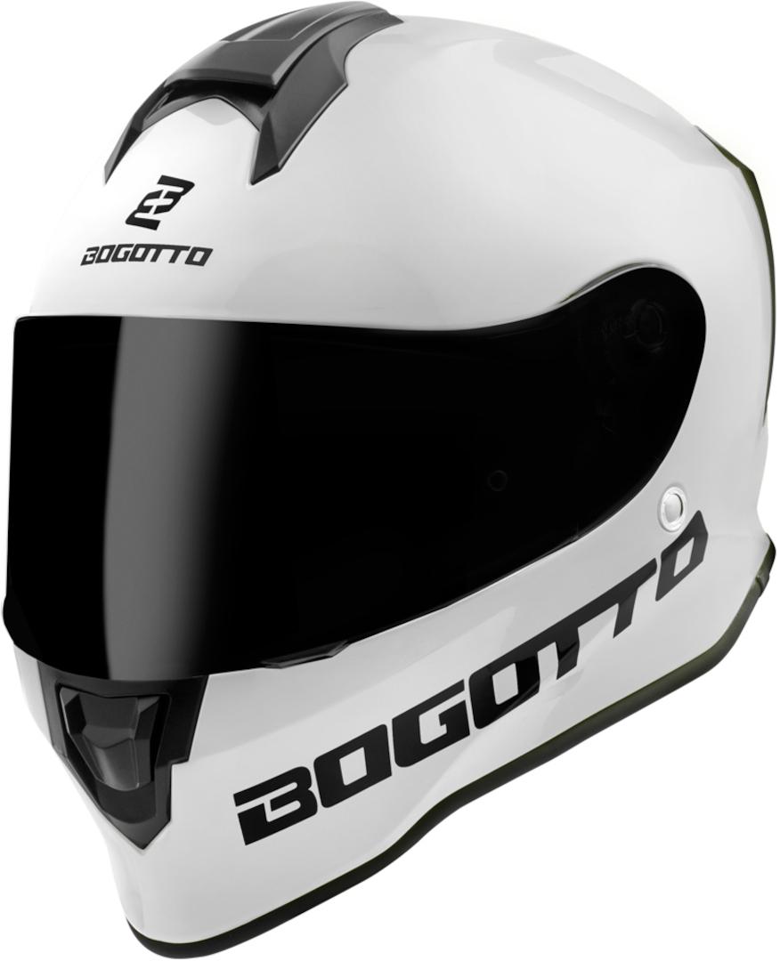 Bogotto V151 SPN Helm, weiss, Größe S, weiss, Größe S
