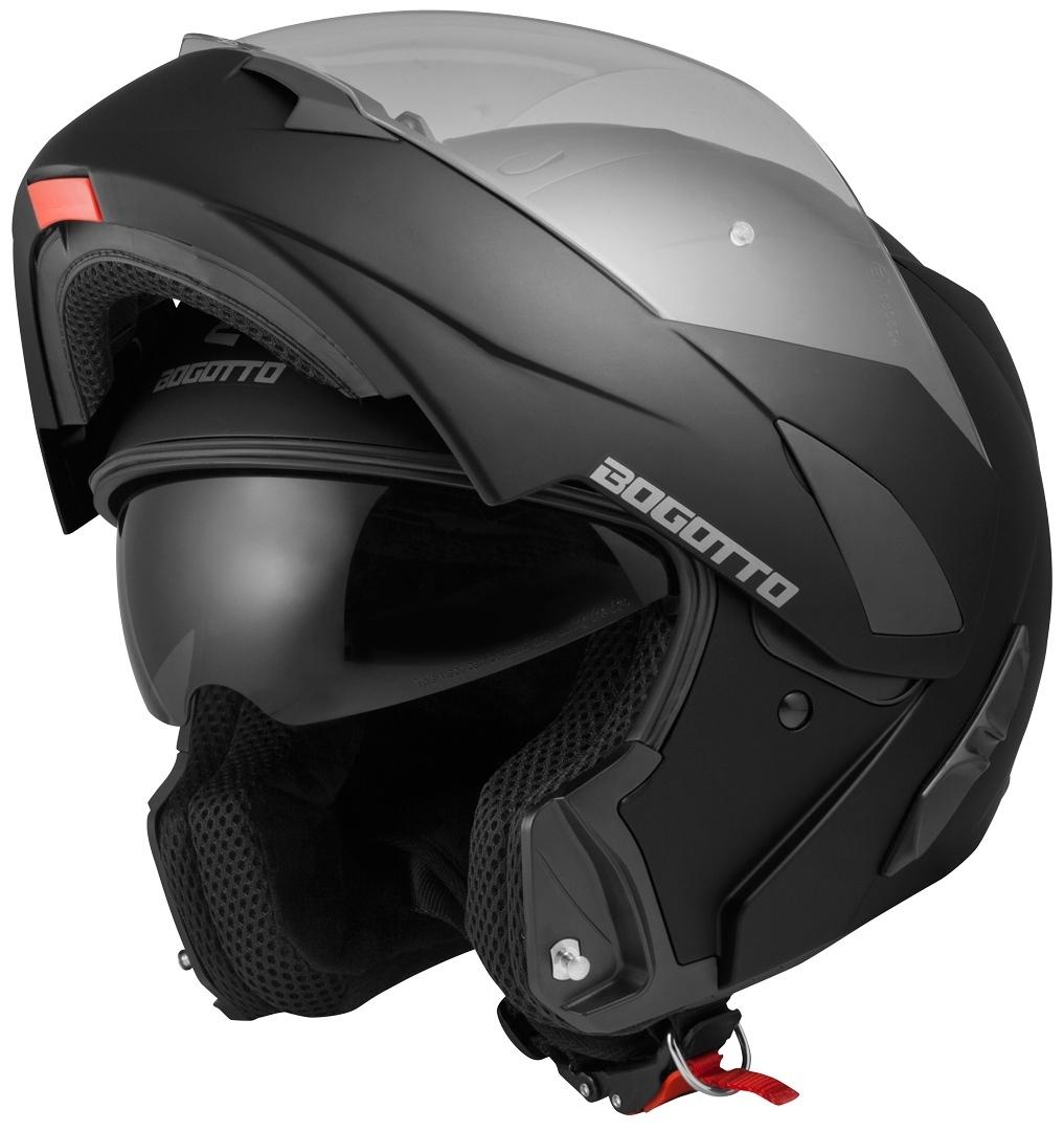 Bogotto V280 Klapphelm, schwarz, Größe XL, schwarz, Größe XL