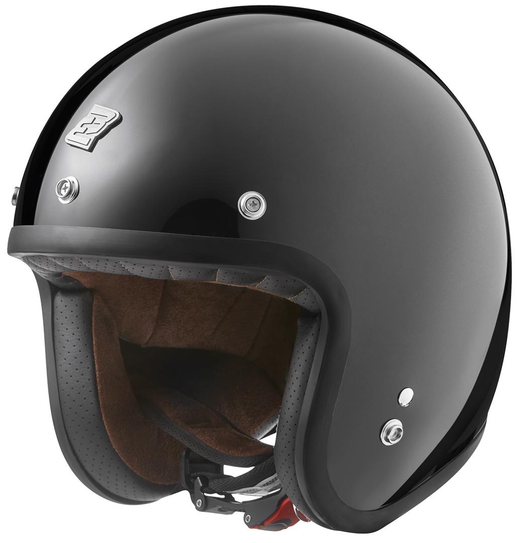 Bogotto V541 Jethelm, schwarz, Größe L, schwarz, Größe L