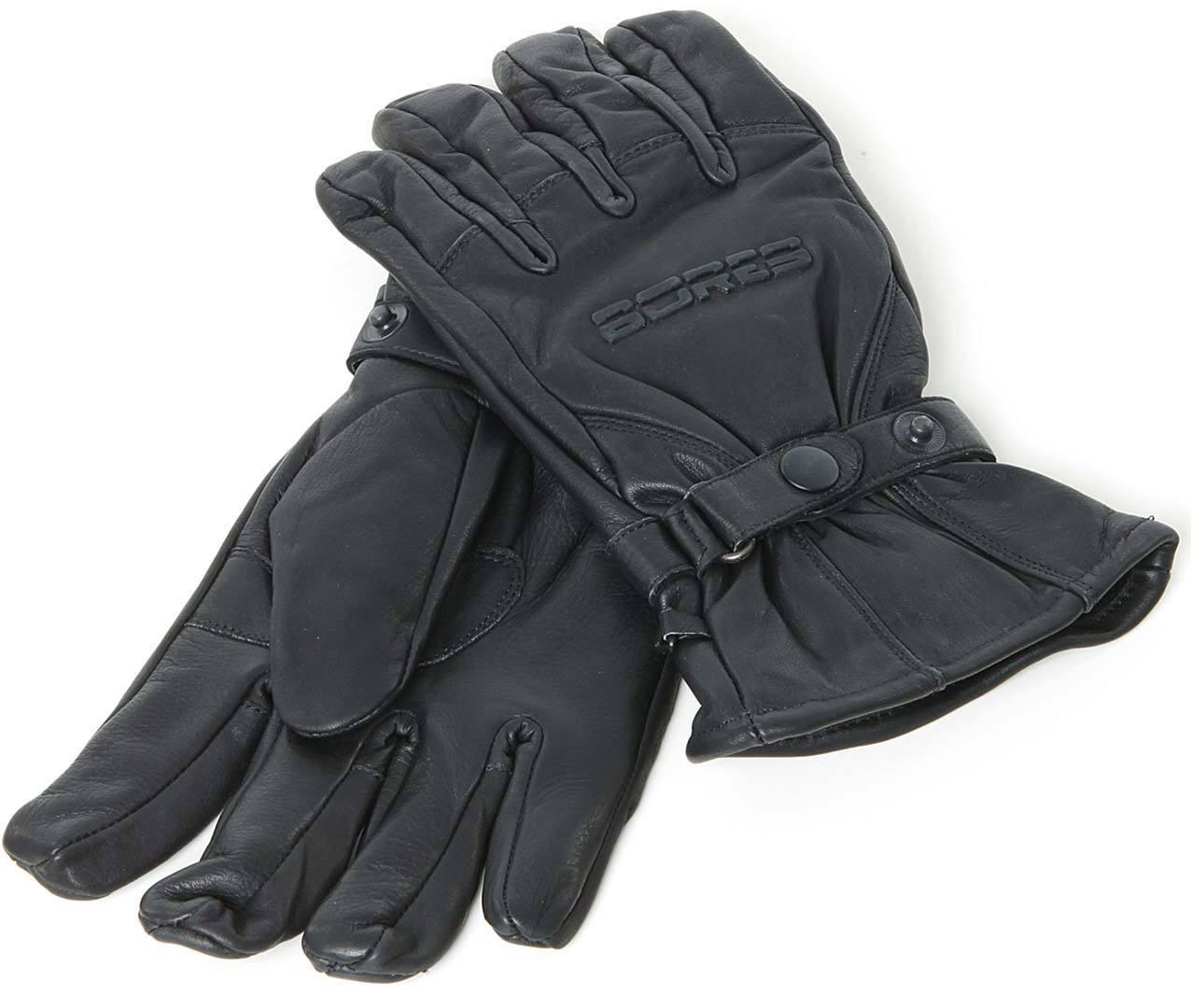 Bores Classico Handschuhe, schwarz, Größe M L, schwarz, Größe M L