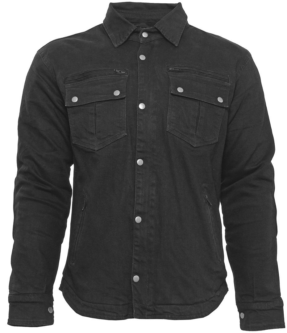 Bores Driver Motorrad Hemd, schwarz, Größe 3XL, schwarz, Größe 3XL