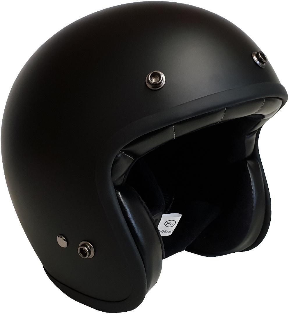 Bores Gensler Classic Jethelm, schwarz, Größe M, schwarz, Größe M