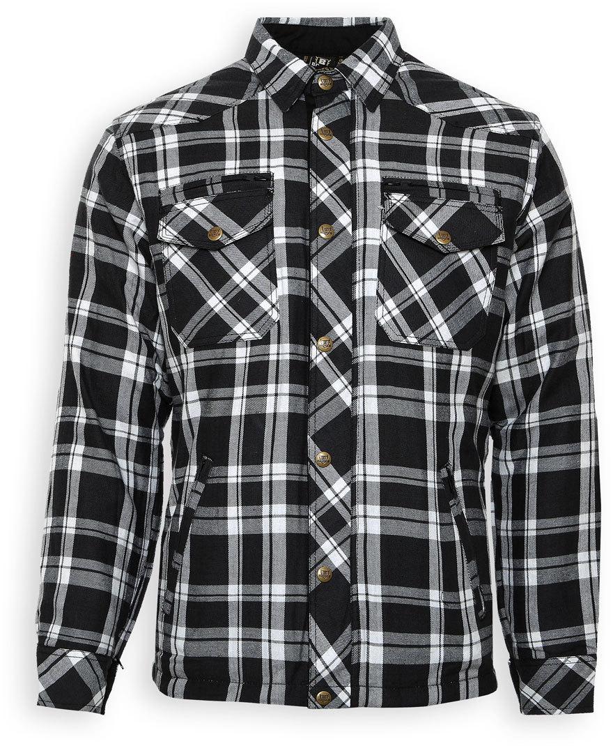 Bores Lumberjack Shirt, schwarz-weiss, Größe 2XL, schwarz-weiss, Größe 2XL