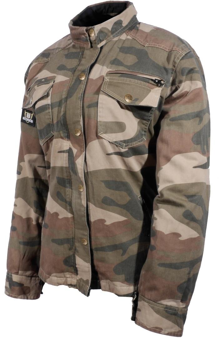 Bores Military Jack Camo Motorrad Hemd, mehrfarbig, Größe 2XL, mehrfarbig, Größe 2XL