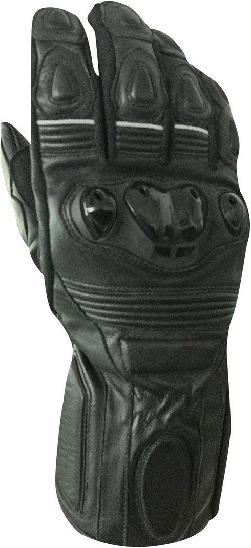 Bores Rider Lederhandschuhe, schwarz, Größe XL, schwarz, Größe XL