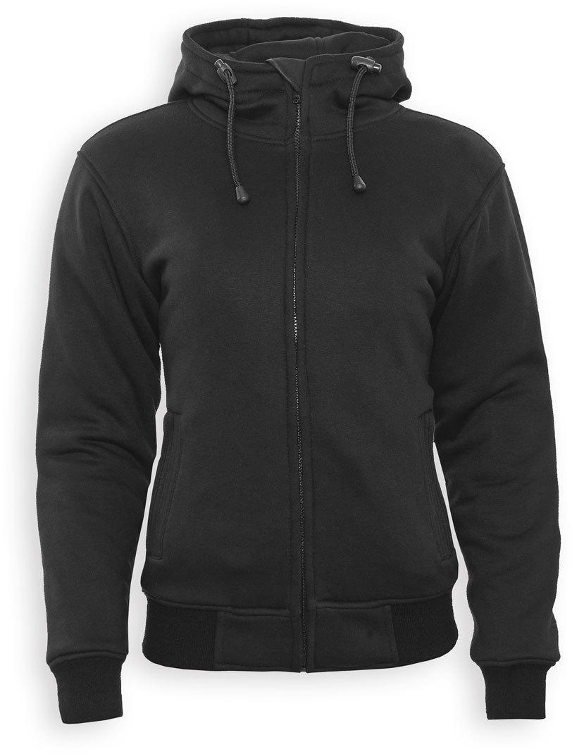 Bores Safety 5 Damen Kapuzenjacke, schwarz, Größe 2XL, schwarz, Größe 2XL