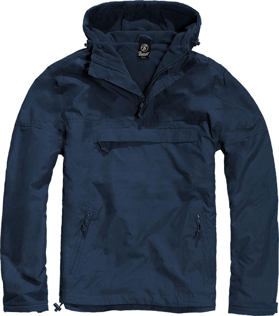 Brandit Windbreaker Jacke, blau, Größe M, blau, Größe M