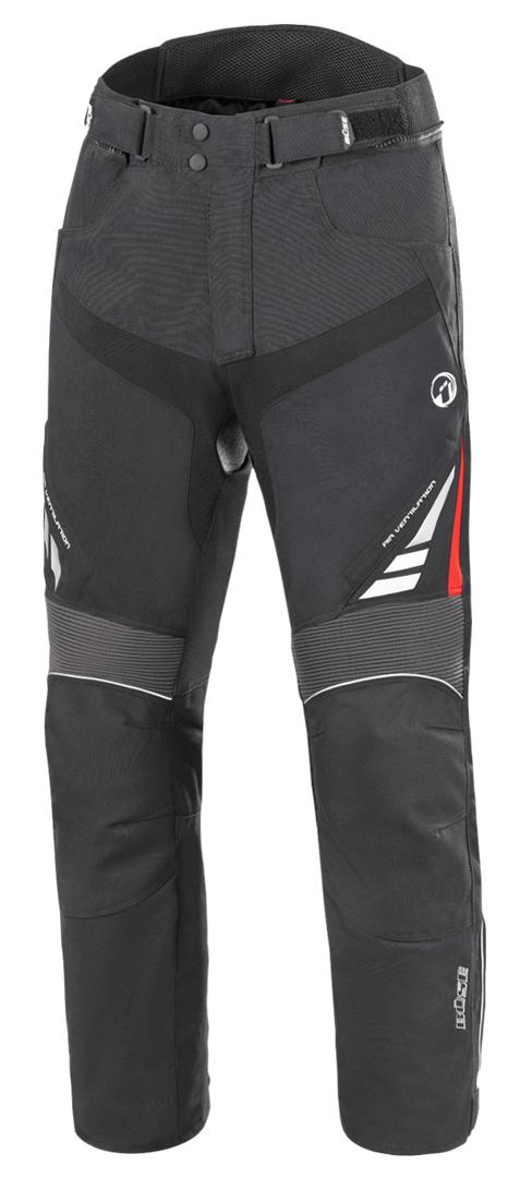 Büse B.Racing Pro Motorrad Textilhose, schwarz, Größe 2XL, schwarz, Größe 2XL