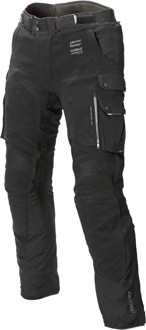 Büse Borgo Motorrad Textilhose, schwarz, Größe 54, schwarz, Größe 54