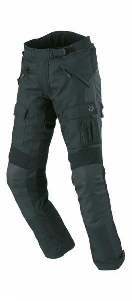 Büse Bormio Motorrad Textilhose, schwarz, Größe 48, schwarz, Größe 48