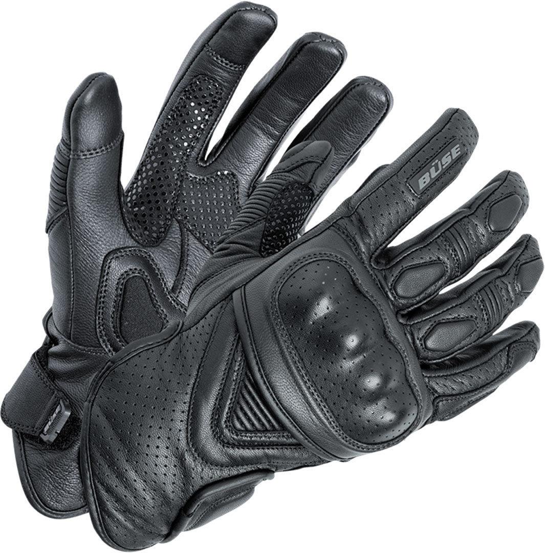 Büse Cafe Racer Handschuhe, schwarz, Größe 3XL, schwarz, Größe 3XL