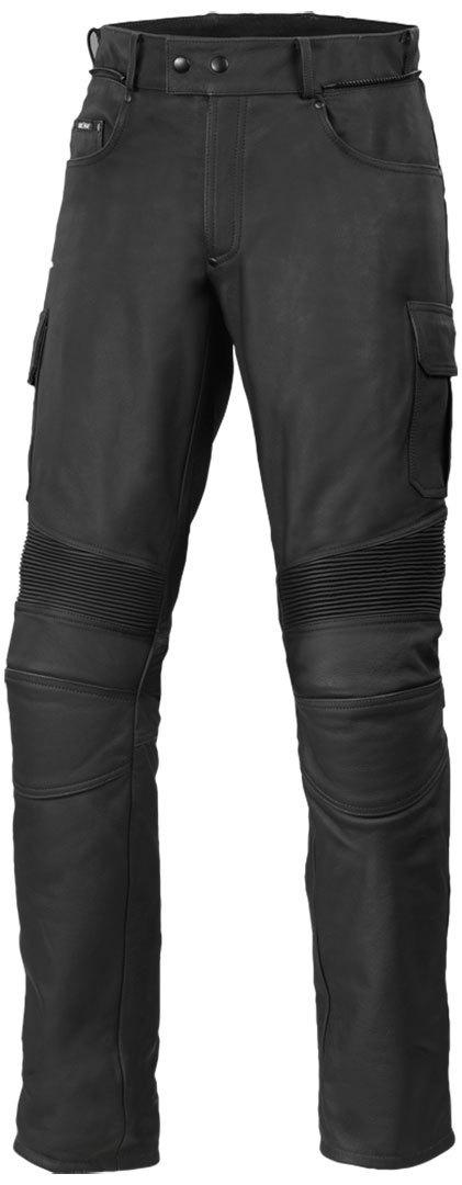 Büse Cargo Motorrad Lederhose, schwarz, Größe 62, schwarz, Größe 62