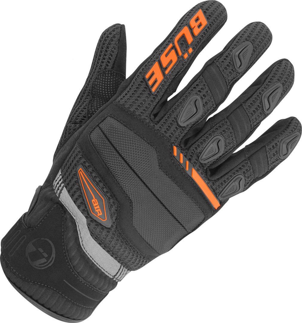 Büse Fresh Motorradhandschuhe, schwarz-orange, Größe XL, schwarz-orange, Größe XL