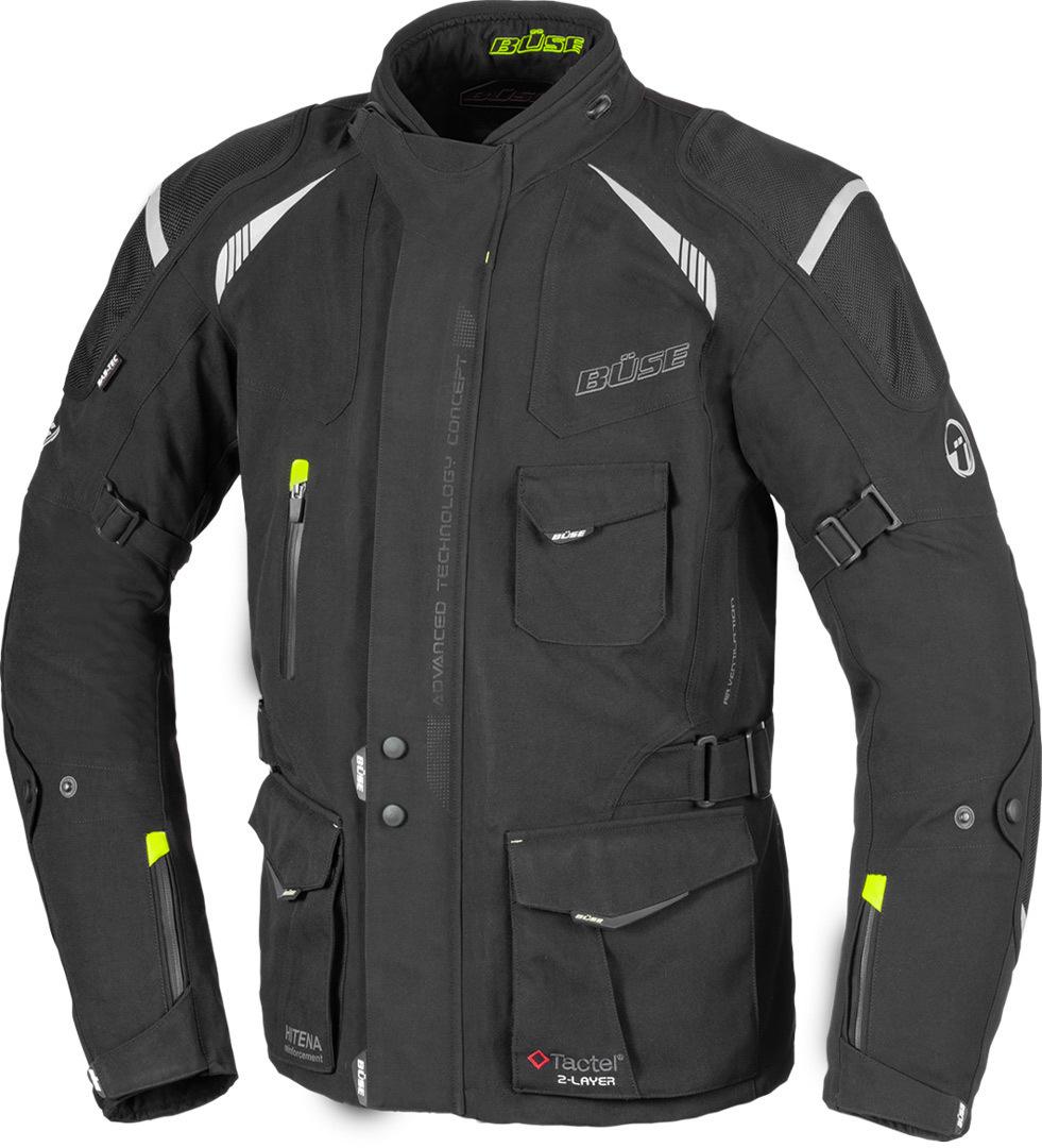 Büse Grado Motorrad Textiljacke, schwarz, Größe 32, schwarz, Größe 32