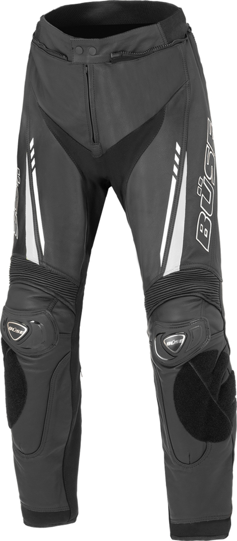 Büse Imola Motorrad Lederhose, schwarz-weiss, Größe 28, schwarz-weiss, Größe 28