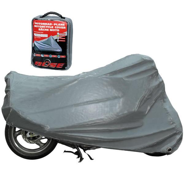 Büse Motorrad Abdeckplane Outdoor, silber, Größe XL, silber, Größe XL