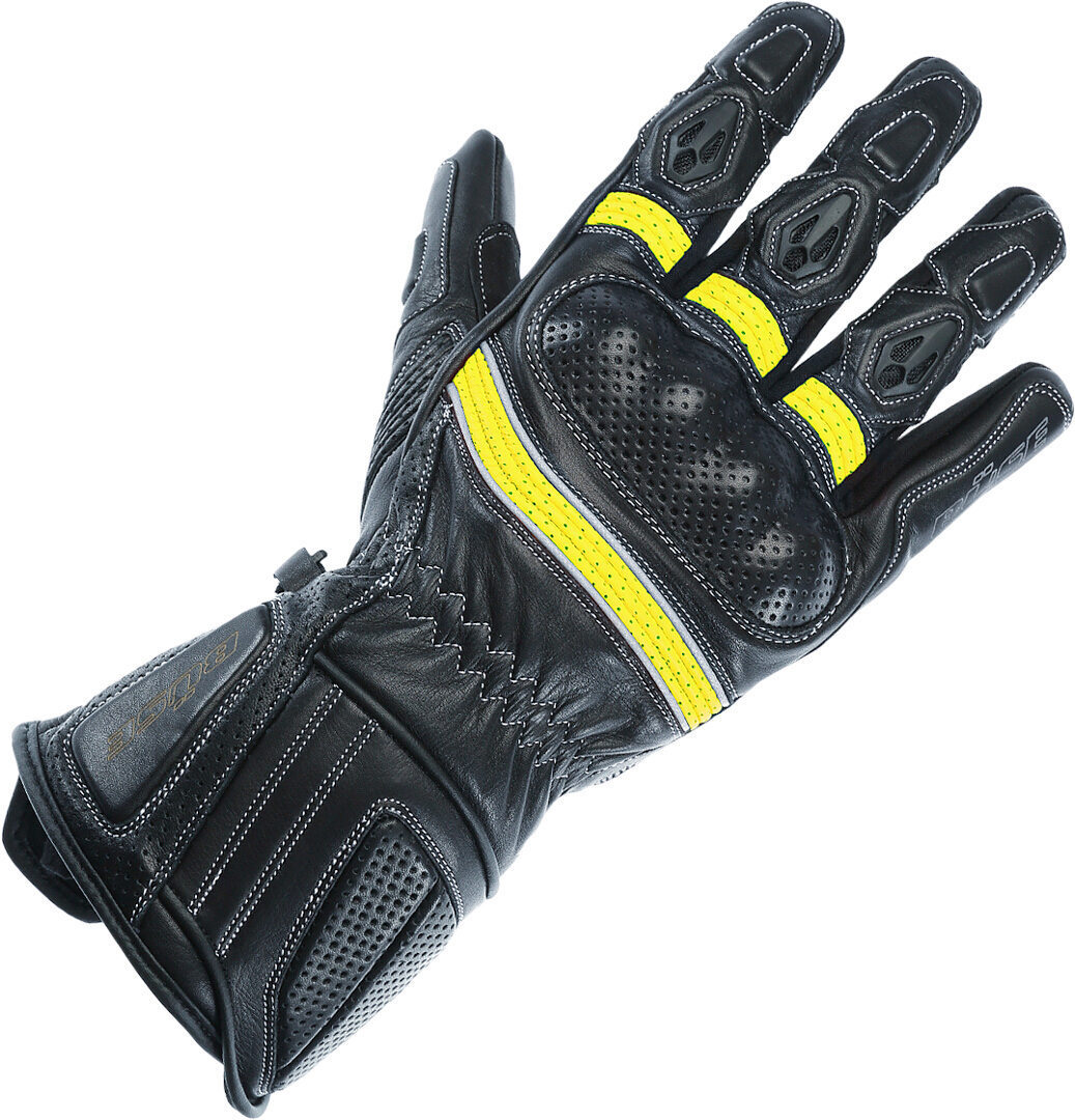 Büse Pit Lane Pro Damen Motorradhandschuhe, schwarz-gelb, Größe S M, schwarz-gelb, Größe S M