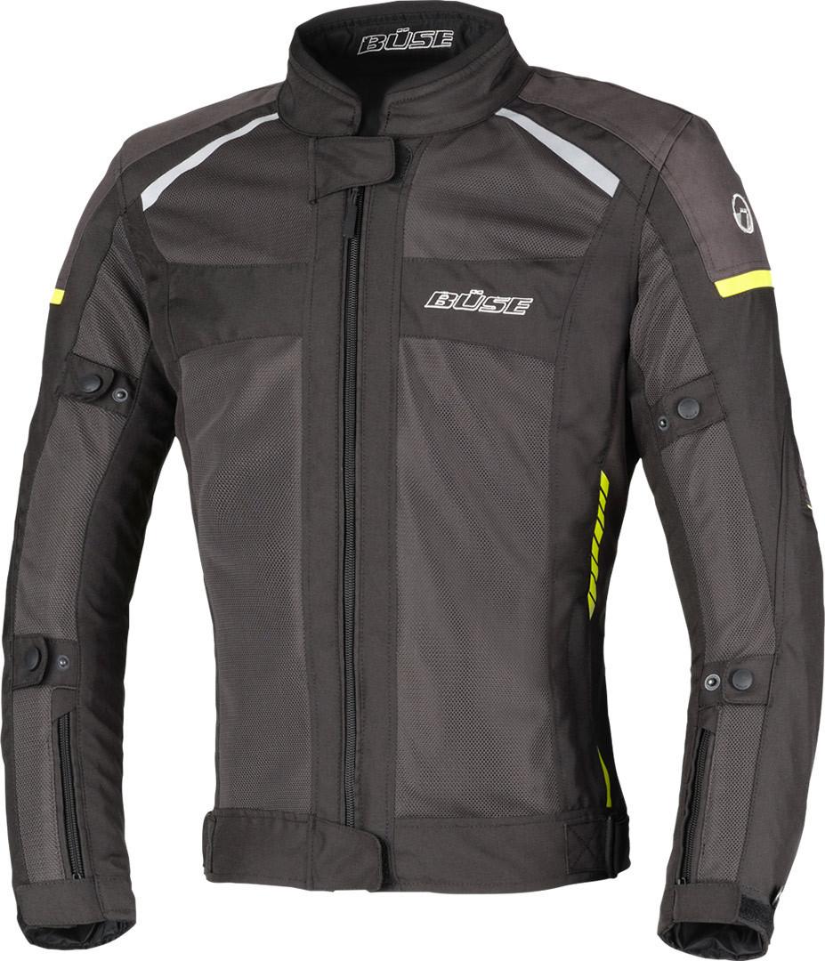 Büse Santerno Damen Motorrad Textiljacke, schwarz, Größe 44, schwarz, Größe 44