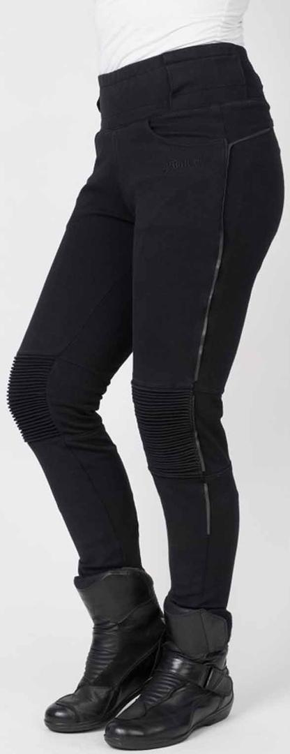 Bull-it SP120 Envy Damen Motorrad Textilhose, schwarz, Größe 28, schwarz, Größe 28